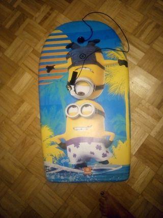 tabla surf infantil de los minions
