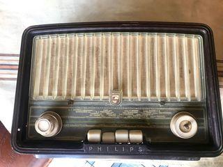 Radio de válvulas philips