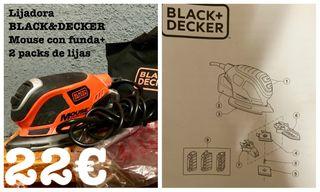 Lijadora Black&Decker Mouse