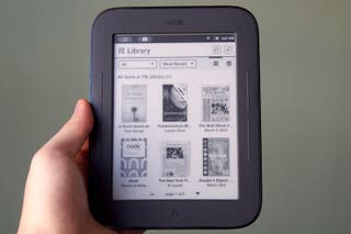 Libro electrónico con luz eReader ebook