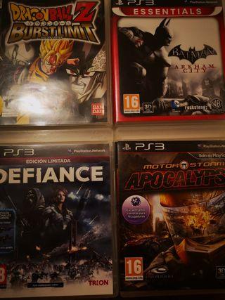 4 juegos para ps3