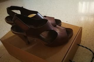 zapatos piel mujer