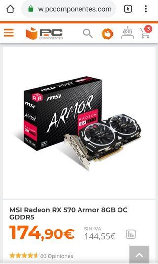 Msi armor rx 570 8gb