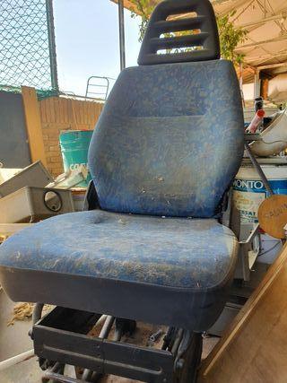 asiento canion o máquina