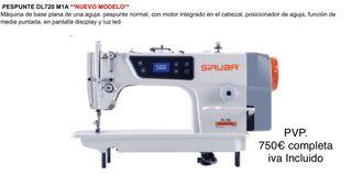 Máquina de Coser Industrial SIRUBA