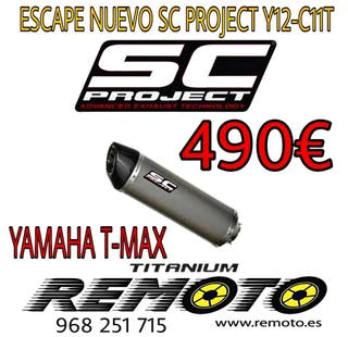 ESCAPE SC-PROJECT Y12-C11T YAMAHA T-MAX