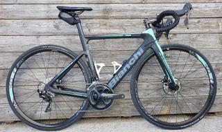 Bicicleta Bianchi aria disc en talla 57 - 48010