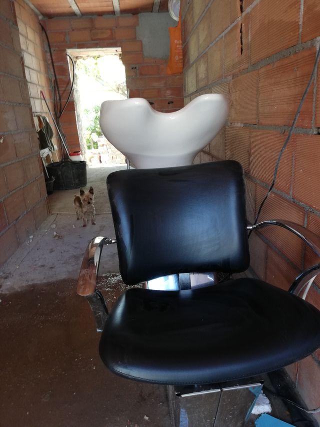 lavabo de peluquería