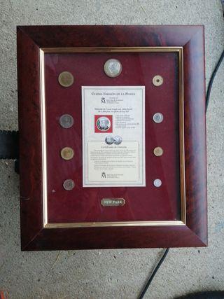 cuadro de la última emisión de la peseta en españa