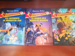 Geronimo Stilton Superherois