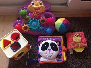 Lote de juguetes para bebe 12-36 meses