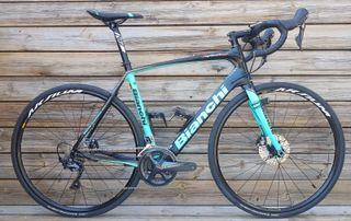 Bicicleta Bianchi infinito cv disc en talla 55 - 4