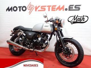 MOTO MASH CAFE RACER SILVER 125cc