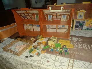 Playmobil granja maletín