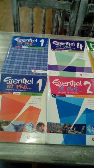Francés A1 y A2 Libros de texto