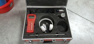 Geofono detector de fugas de agua.