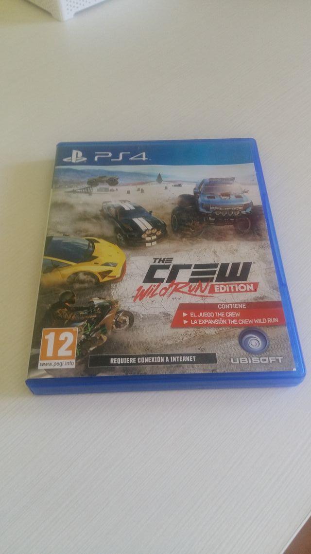 THE CREW WILD RUN PS4