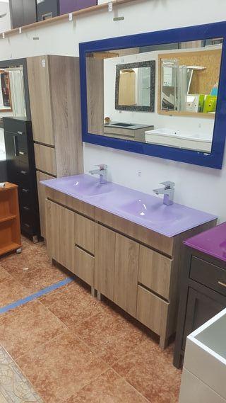 Mueble de baño 140x45 Mod N112C