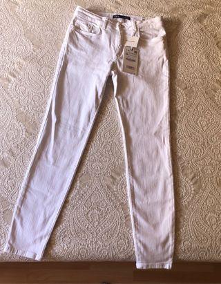 pantalon fluido estampado zara wallapop