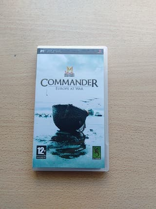 Military History Commander Europe At War (PSP).