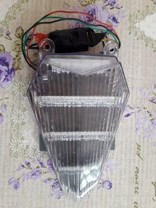 Yamaha R6 faro trasero LED con intermitentes