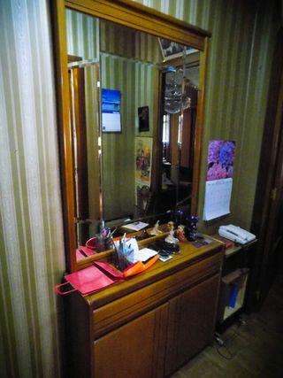 Cómoda con espejo, vintage