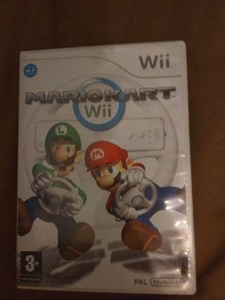 Mario Kart + 2 volantes para Wii
