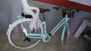 Bicicleta de paseo nueva .