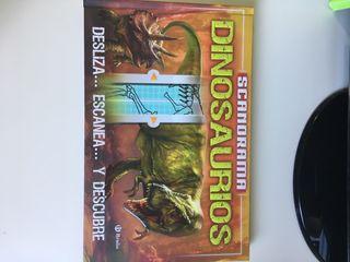 libro dinosaurios + educatouch