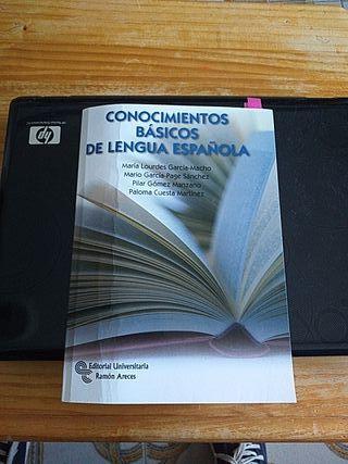 libro de lengua española para prueba de acceso