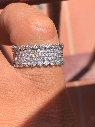 Pandora anillo plata