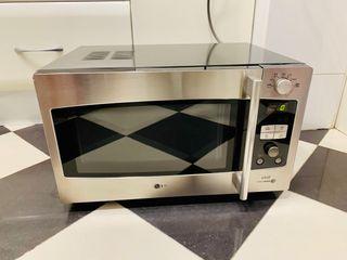 Horno microondas grill LG