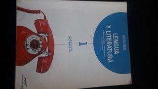 Lengua y Literatura 1° Bachillerato.