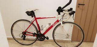 bicicleta de carreras aluminio campagnolo