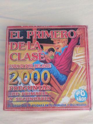JUEGO DE MESA EL PRIMERO DE LA CLASE