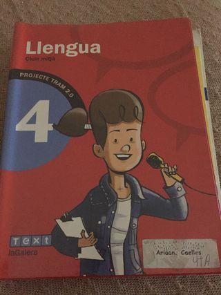 Libro lenguaje cuarto ISBN9788441221109