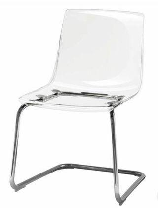 Sillas (6) de comedor TOBIAS de Ikea