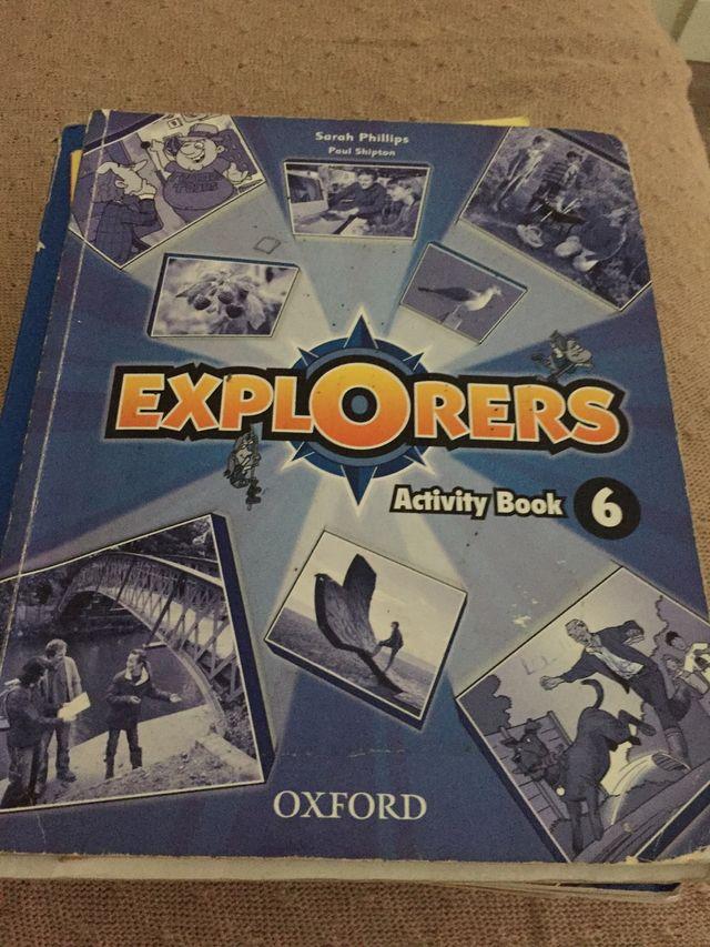 Libro actividades inglés ISBN9780194509428