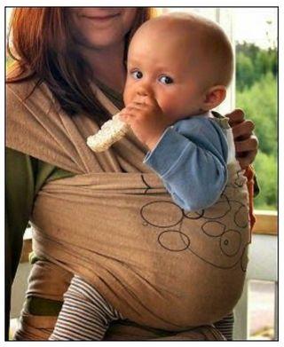 Fular portabebés semielástico MamEco