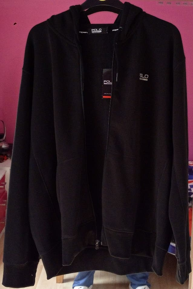 RRP£90 Zip-Up Hoodie Ralph Lauren Performance