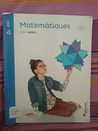 Libro Matemáticas 4° ESO