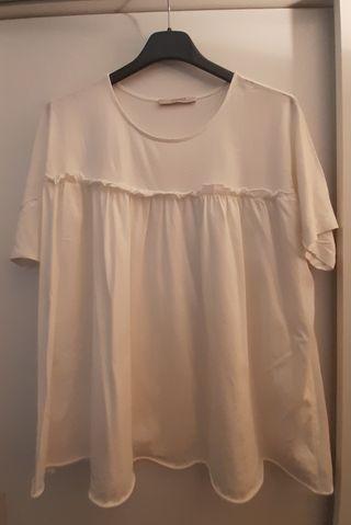 Blusa algodón Uterque