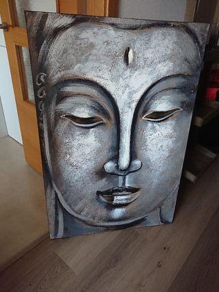 óleo Budha