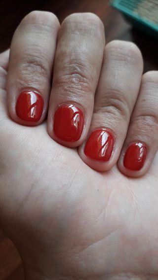 manicura Gellac semi permanente 14 días