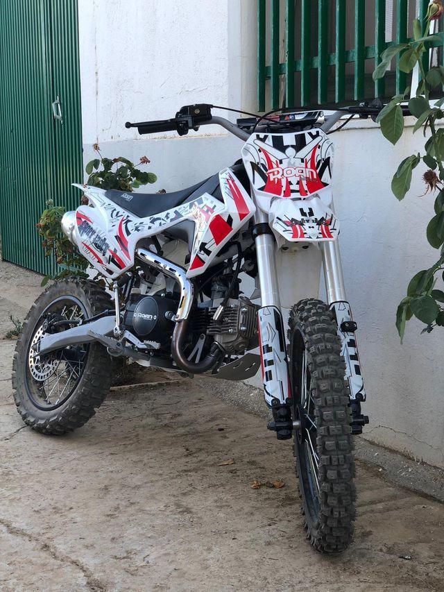 Moto de cross pitbike XL