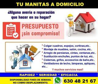 MANITAS. REPARACIONES. MADRID