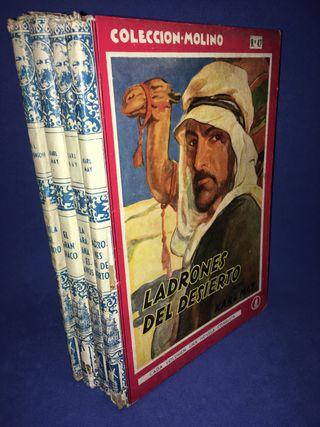 4 libros Editorial Molino. Años 40