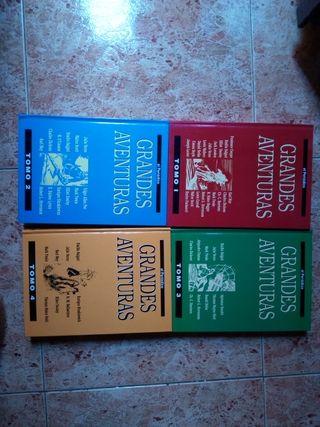 Lote 4 tomos Grandes Aventuras