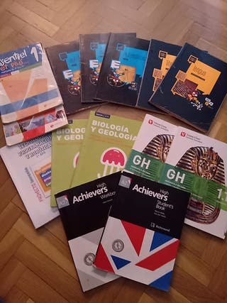 libros 1º ESO programa