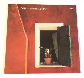 JOAN MANUEL SERRAT 1978 Disco Vinilo Lp